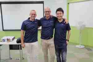 Corporate Team Building Singapore Team Member Ben Emile Ricky
