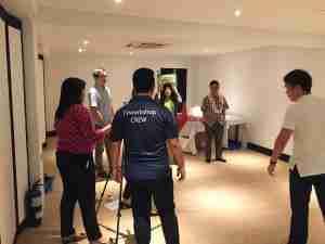 TVworkshop team building ideas singapore. MOM, Ministry of Manpower Singapore