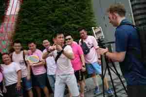 Team building activities in singapore TVworkshop Singapore OCBC Bank Great Eastern Singapore Taipei Taiwan 2017 October