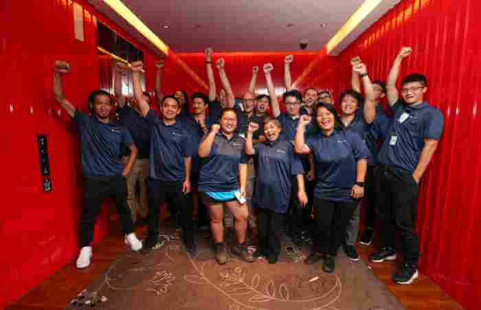 Gallery TVworkshop team building Singapore event organiser