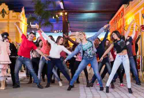 Dance team bonding Singapore