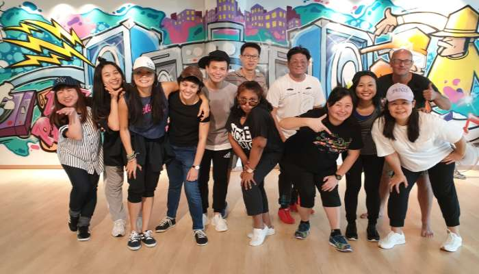 Dance Team Building Singapore