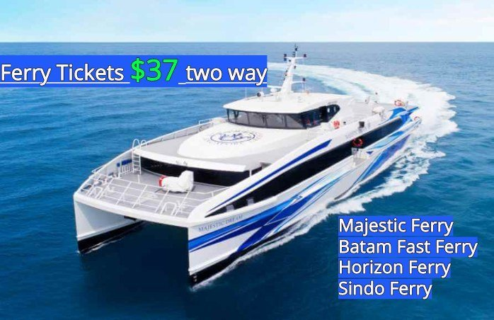 Batam Getaway Cheapest Ferry Tickets