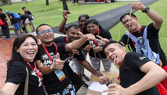 Team Building Batam Amazing Race