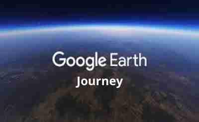 Google earth Journey online team building