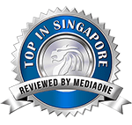 Top in Singapore Award Media One Marketing
