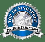 Top in Singapore Award Media One Marketing
