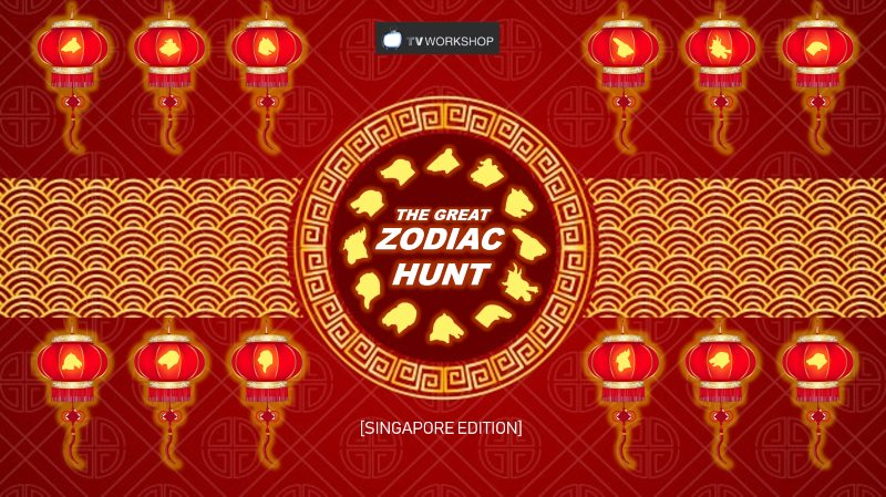 The Great Zodiac Hunt Singapore Edition Chinese New Year Virtual Online Team Building For Remote Teams