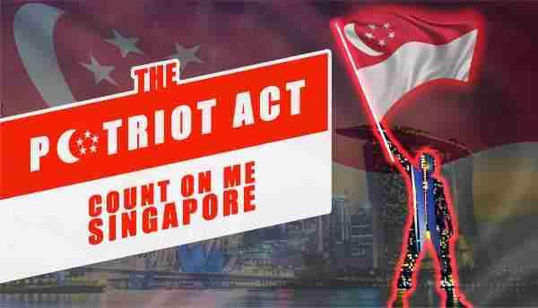 Virtual Online Team Building Patriot Act Count On Me Singapore